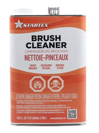 one gallon of brush cleaner for paint clean up