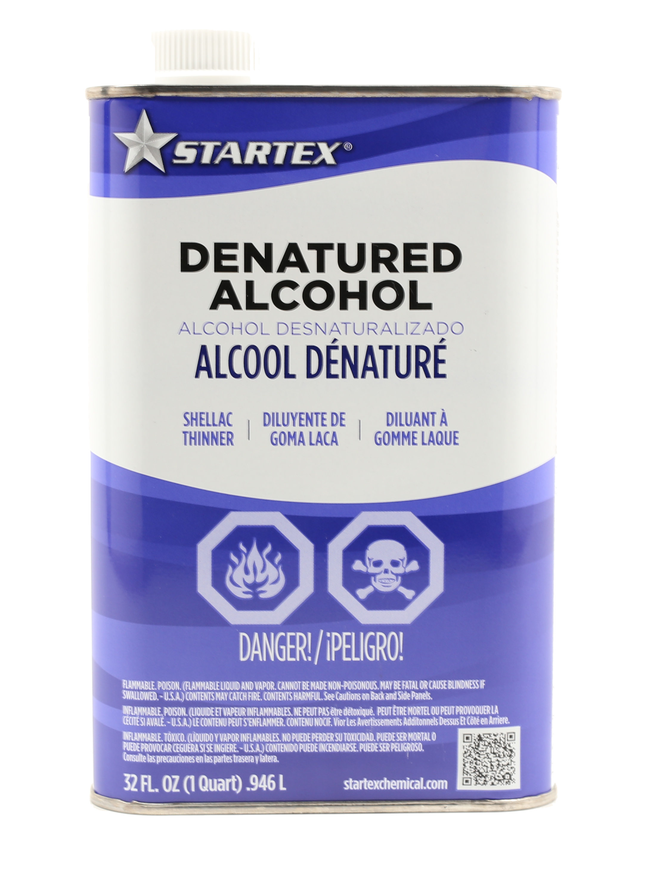 denatured alcohol for paint application and clean up