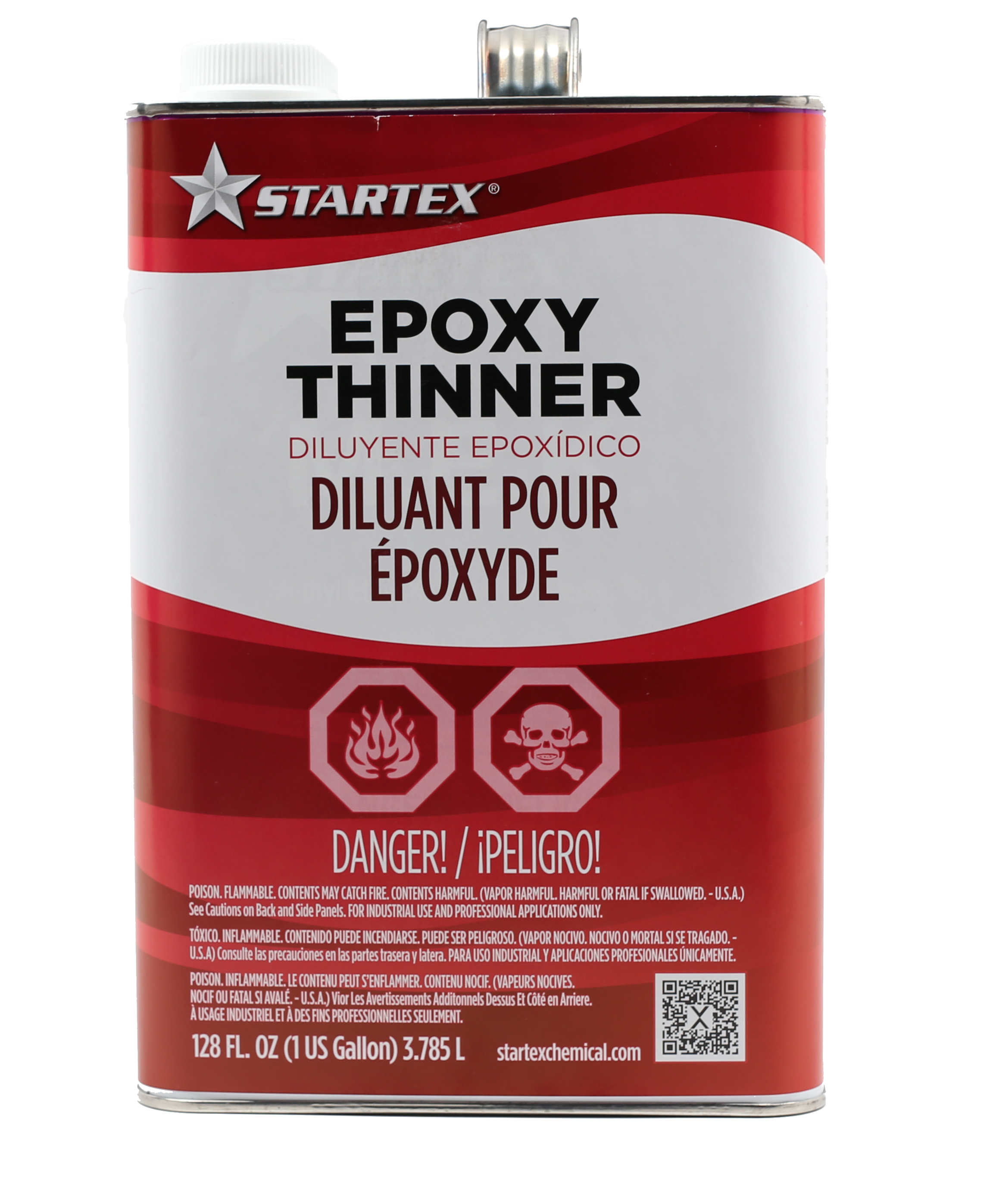 one gallon epoxy thinner for paint application and clean up