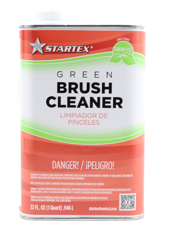 VOC compliant green brush cleaner
