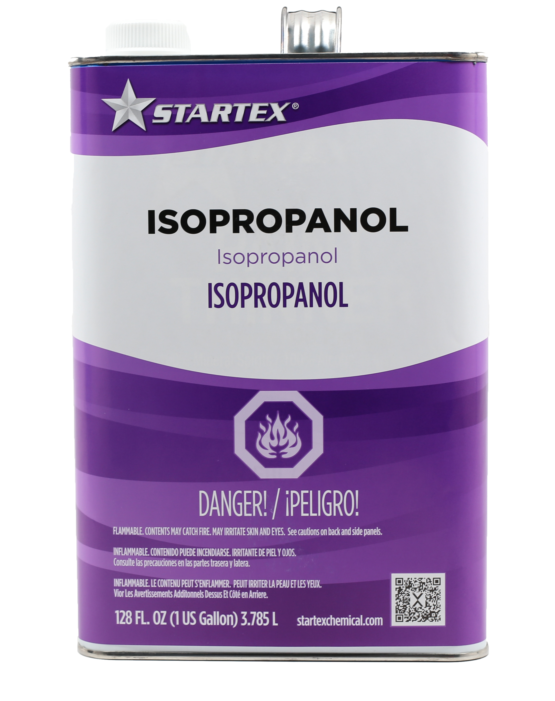 one gallon isopropanol for paint application and clean up