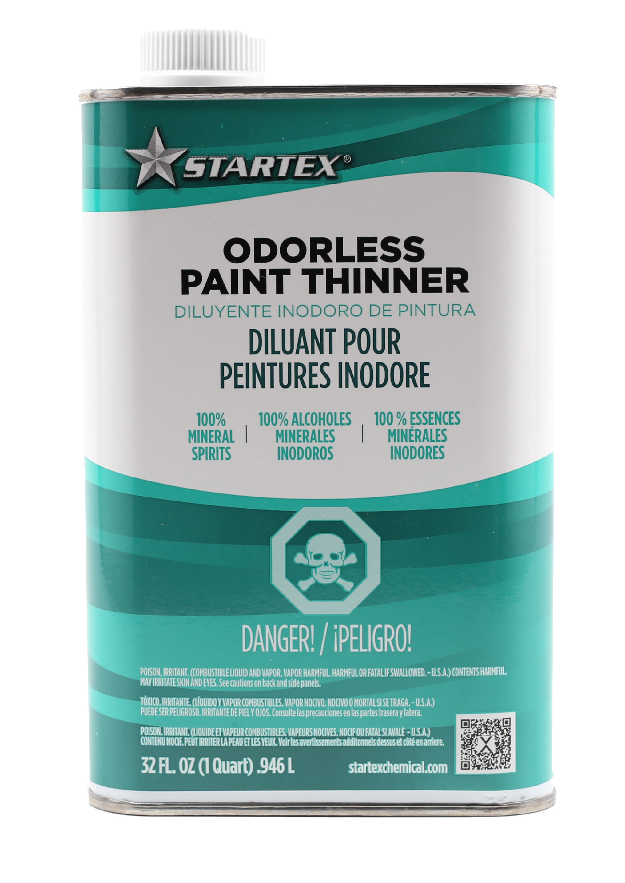 one quart odorless paint thinner