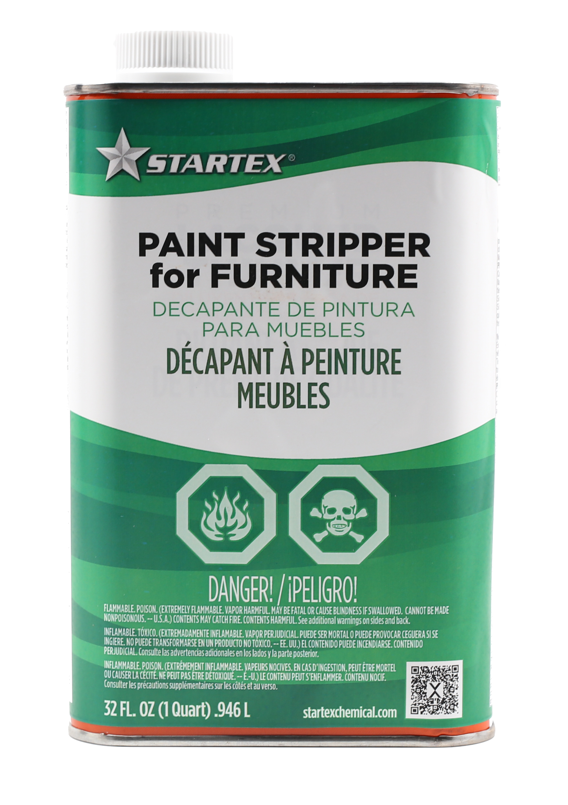 one quart wood and metal furniture paint stripper