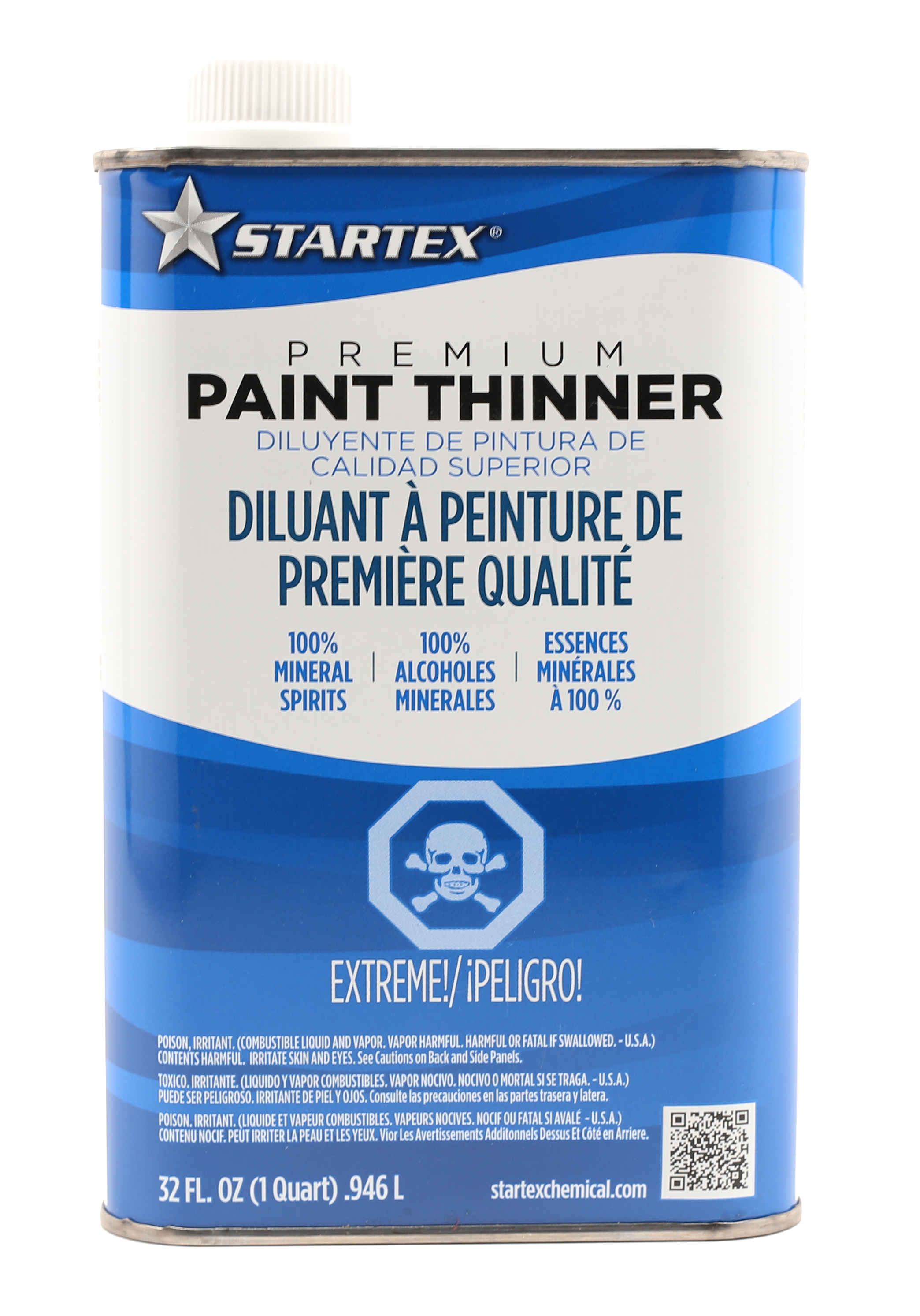 one quart paint thinner for paint application and clean up